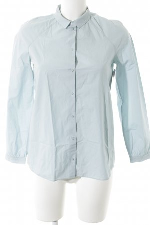 COS Shirt Blouse baby blue business style