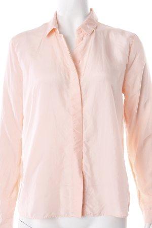 COS Hemd-Bluse rosa-rosé schlichter Stil