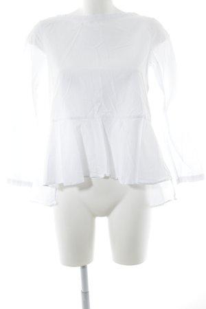 COS Hemd-Bluse weiß minimalistischer Stil