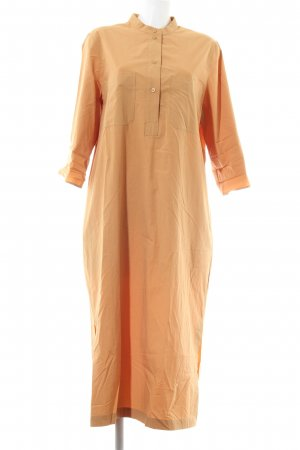 COS Abito blusa camicia arancione chiaro stile casual