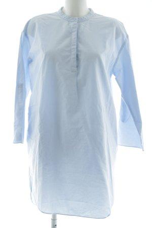 COS Abito blusa camicia blu stile casual