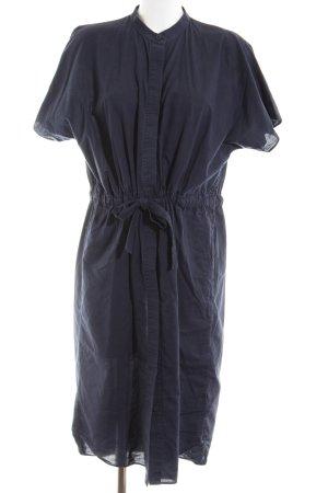 COS Hemdblousejurk blauw zakelijke stijl