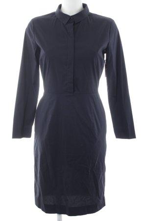 COS Robe chemise bleu foncé style décontracté