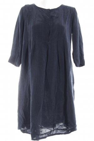 COS Hemdblusenkleid dunkelblau Casual-Look