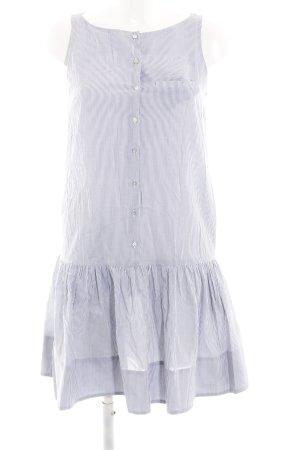 COS Abito blusa camicia grigio chiaro-bianco motivo a righe stile casual
