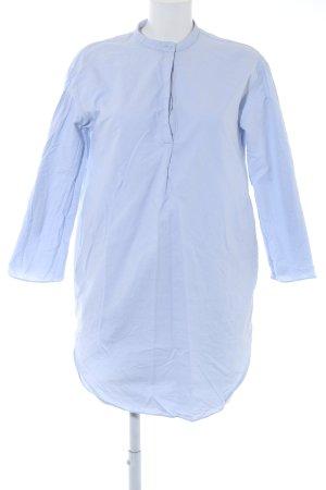 COS Hemdblusenkleid himmelblau Casual-Look