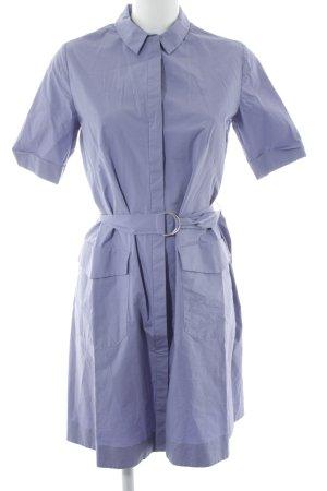 COS Shirtwaist dress steel blue casual look