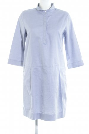 COS Vestido tipo blusón blanco-azul oscuro look casual