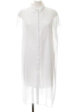 COS Hemdblusenkleid weiß schlichter Stil