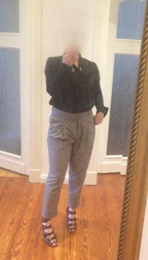 COS High Waist Hose Gr.38 grau Neu Etikett Bundfalte oversize relaxed Boyfriend