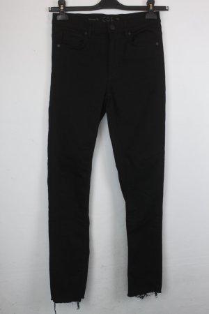 COS High Waist Jeans Gr. 28 schwarz (18/6/096)
