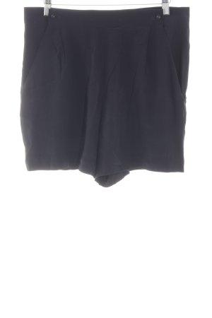 COS High-Waist-Shorts blau schlichter Stil