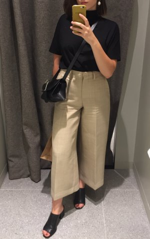 COS Highwaist Culotte beige