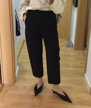 COS High Waist Trousers black