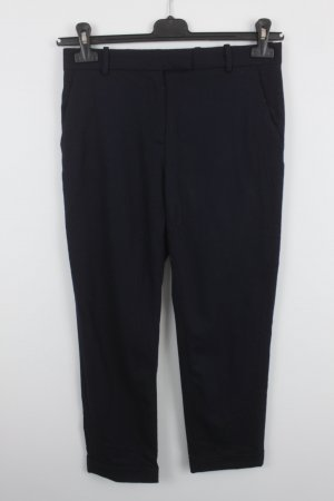 COS Trousers dark blue cotton