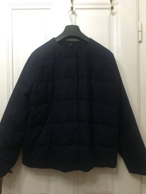 COS Quilted Jacket dark blue