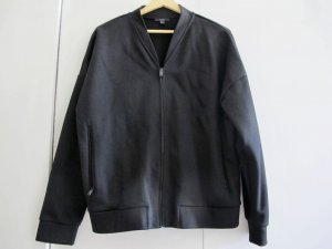 COS Blouson black mixture fibre