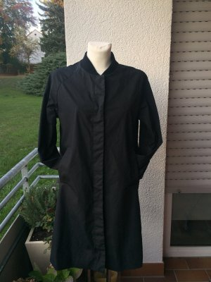 COS Heavy Raincoat black