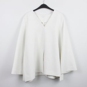 COS Between-Seasons Jacket white polyester