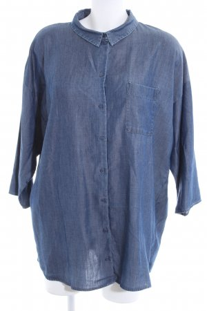 COS Jeansbluse blau Casual-Look