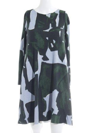 COS Jeanskleid abstraktes Muster Casual-Look