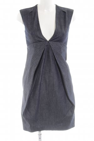 COS Denim Dress blue flecked business style