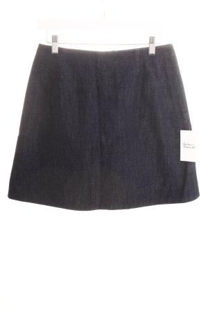 COS Jeansrock dunkelblau Jeans-Optik