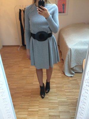 COS Jersey Kleid hellgrau