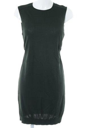 COS Jerseykleid dunkelgrün Casual-Look