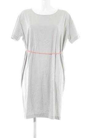 COS Jerseykleid hellgrau-neonorange Casual-Look