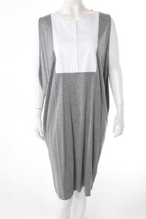 COS Jerseykleid mit Einsatz Oversize weiter Armausschnitt Loose fit Kleid