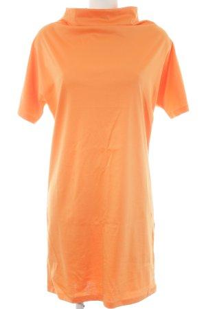 COS Jerseykleid neonorange Casual-Look