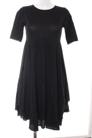 COS Jerseykleid schwarz Casual-Look