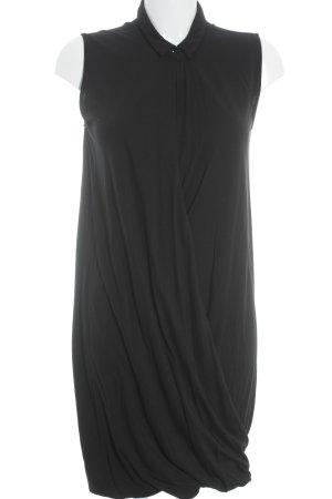 COS Jerseykleid schwarz Elegant
