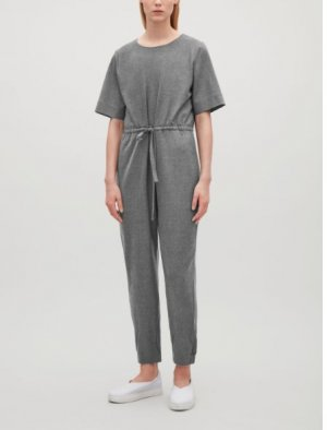 COS Jumpsuit Overall aus Wolle
