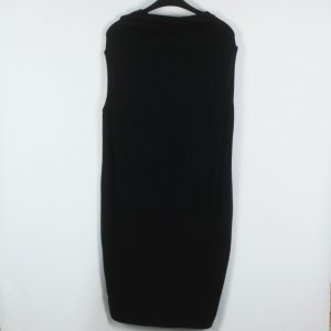 COS Hooded Dress black mixture fibre