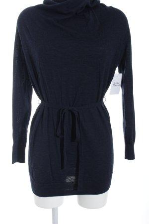 COS Jersey con capucha azul oscuro look casual