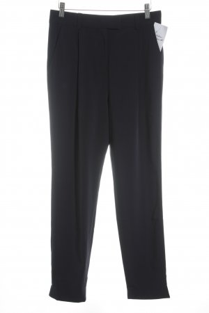 COS Peg Top Trousers dark blue classic style
