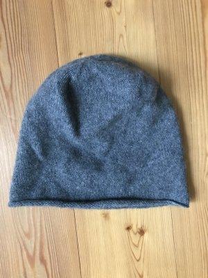 COS Kaschmir Mütze grau