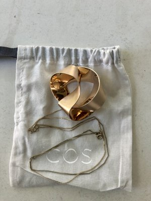 COS Necklace gold-colored