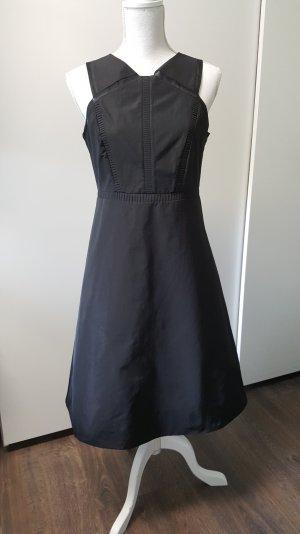 COS Kleid 38 schwarz transparent lang