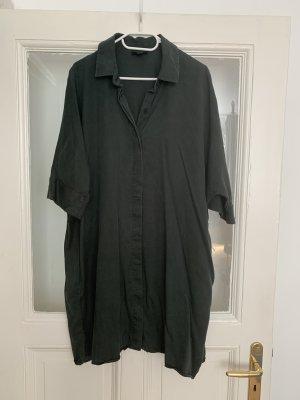 COS Abito blusa camicia verde scuro