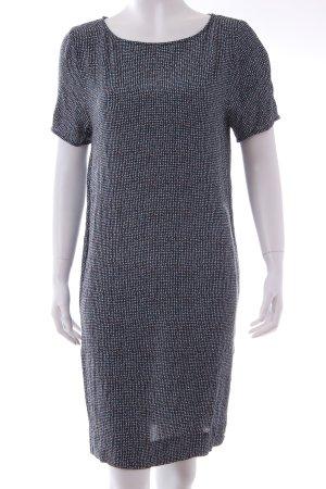 Cos Kleid blau gemustert