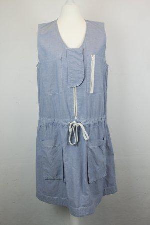 COS Kleid Blusenkleid Gr. 40 blau