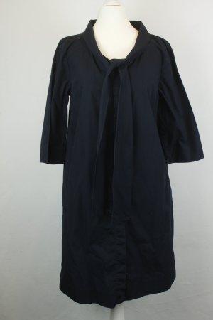 COS Kleid Blusenkleid Midikleid Gr. 36 dunkelblau