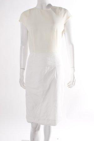 Cos Kleid cremefarben-weiß