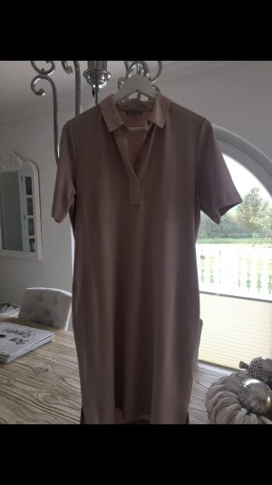 COS Polo Dress rose-gold-coloured
