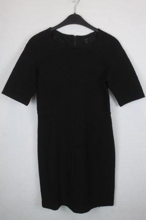 COS Kleid Gr. S schwarz gerippt (18/9/059)