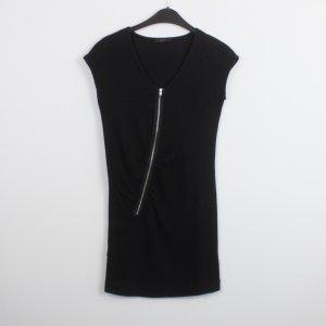 COS Kleid Gr. S schwarz mit Reißverschluss vorn (18/9/654)