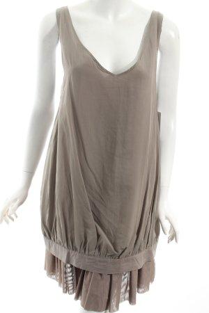 COS Kleid graubraun extravaganter Stil